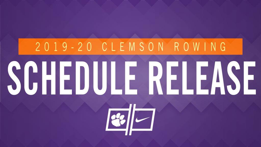 Rowing Releases 2019-20 Schedule