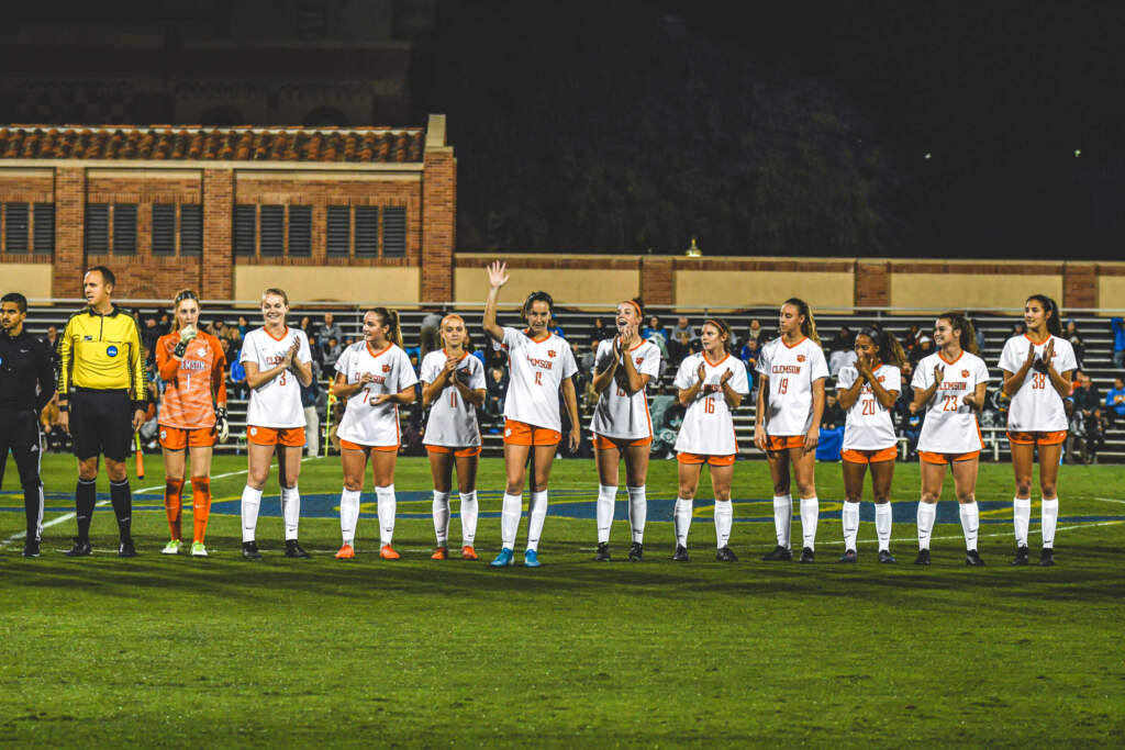 Clemson Closes Out Season in NCAA Second Round