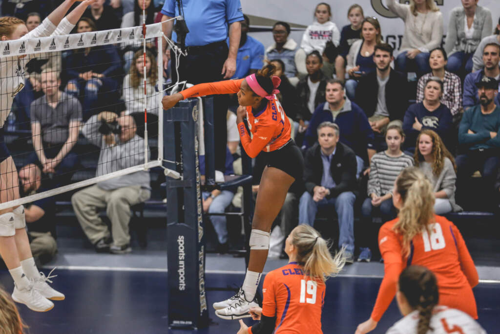 Georgia Tech Defeats Tigers in Four Sets
