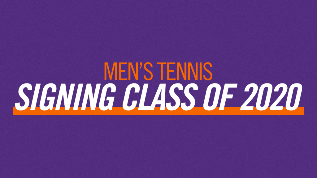 Men's Tennis Signing Class of 2020
