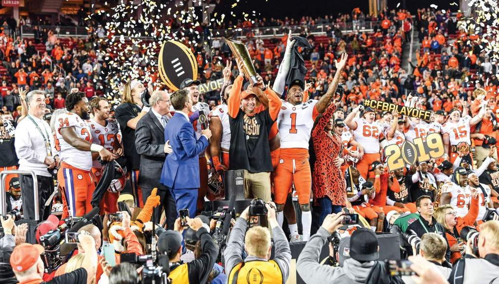 Landmark Events in Tiger History – 2018 National Championship