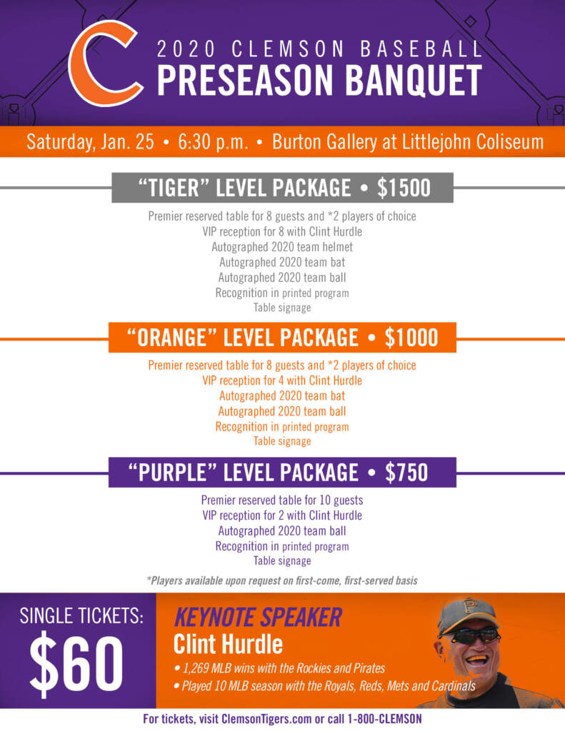 Preseason Banquet Set For Jan. 25