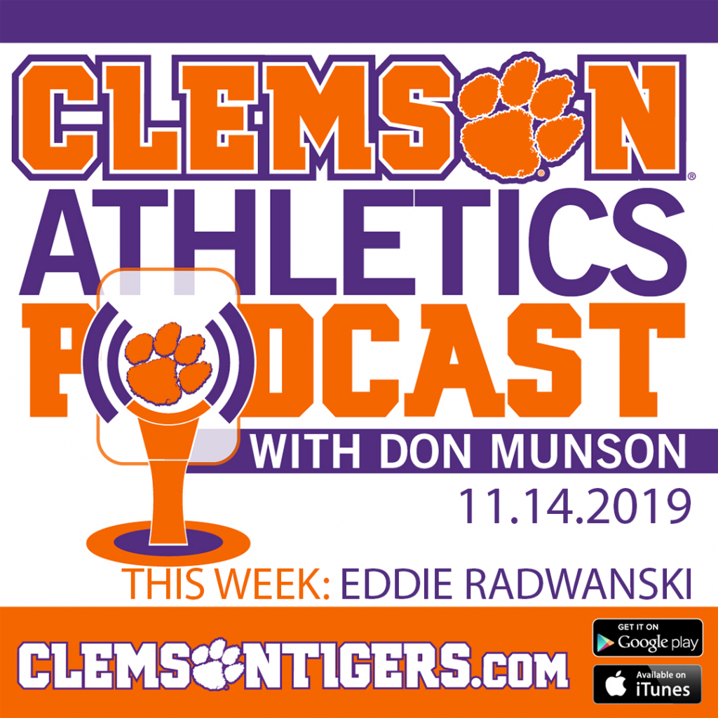 Clemson Athletics Podcast 11.14.2019 featuring women's soccer head coach Eddie Radwanski