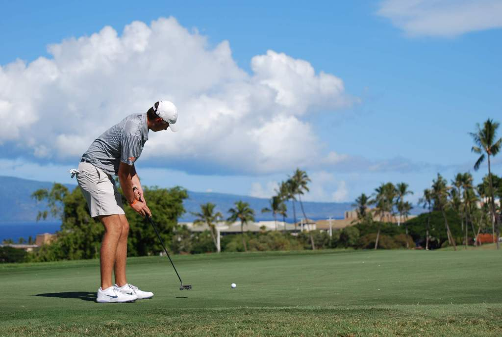 Tigers Tied for Seventh after First Round of  Ka'anapali Classic