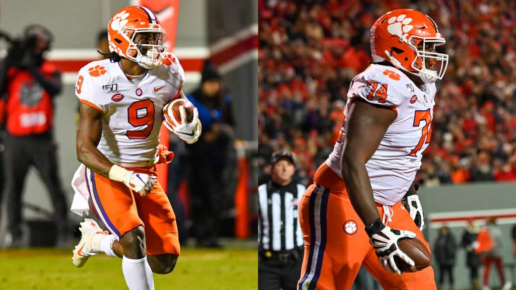 Etienne, Simpson Collect ACC Weekly Honors