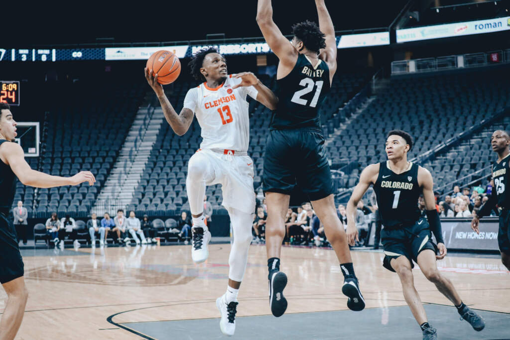 Clemson Falls to Colorado in MGM Resorts Main Event
