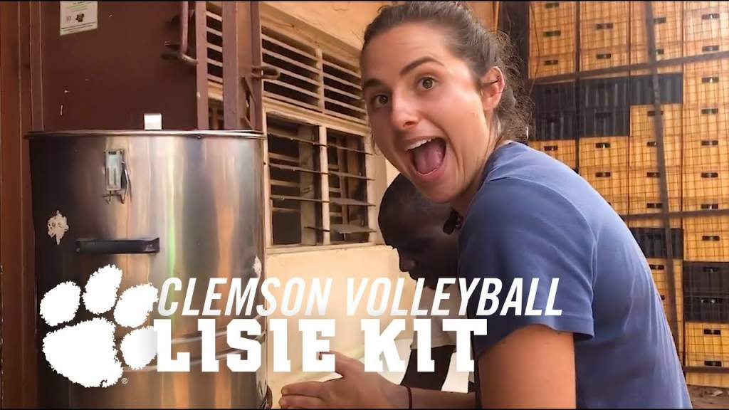 Clemson ACCN Feature || Engineers with Borders 🏐 Lisie Kit