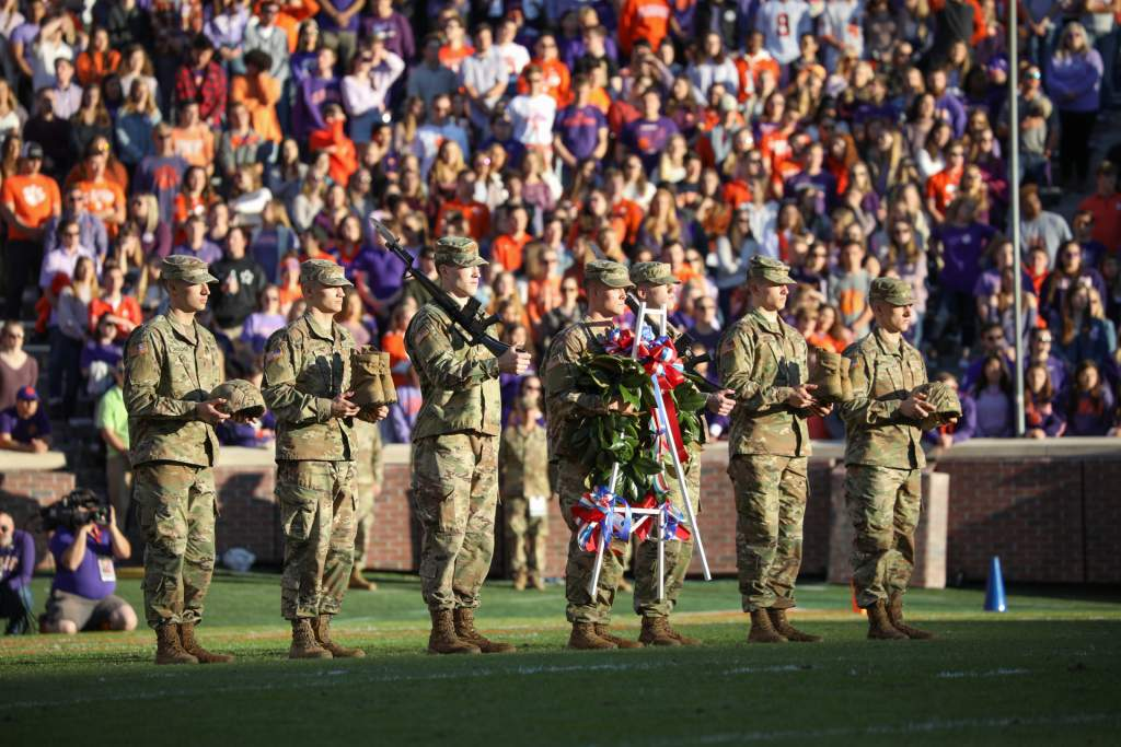 Clemson Holds 2020 Military Appreciation Day Saturday