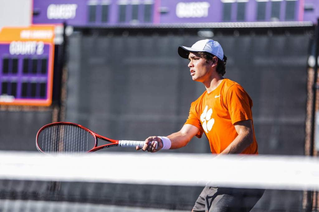 Jahn Earns Singles Flight Title in All-Tiger Matchup