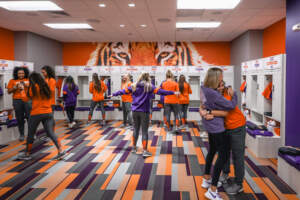 Softball Locker Room Reveal