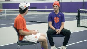 Play video: Racquet Fire Questions: Cole Gordon