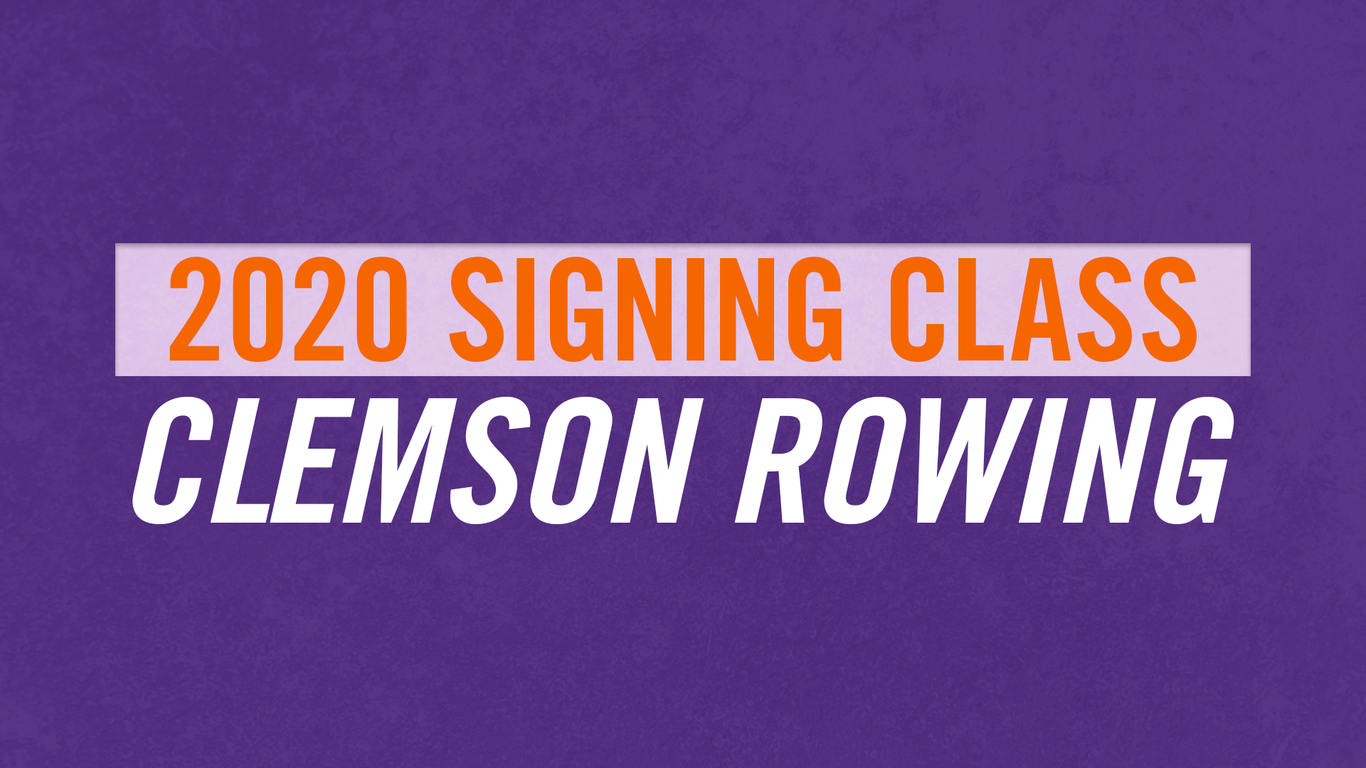 Rowing Inks Ten Student Athletes For The Fall of 2020