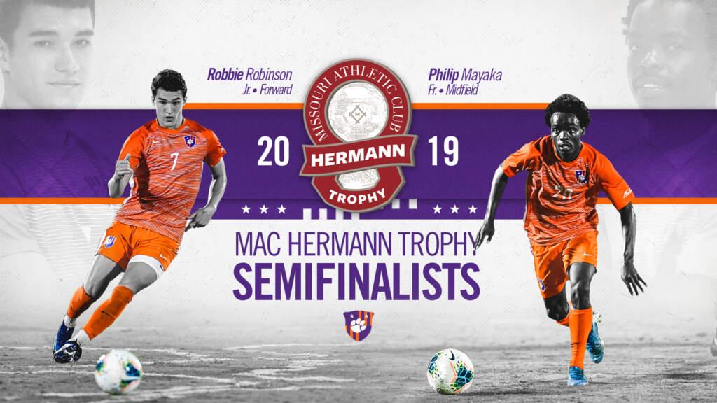 Robinson, Mayaka Named MAC Hermann Trophy Semifinalists