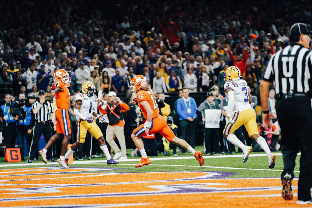 LSU Tops Clemson in CFP National Championship Game