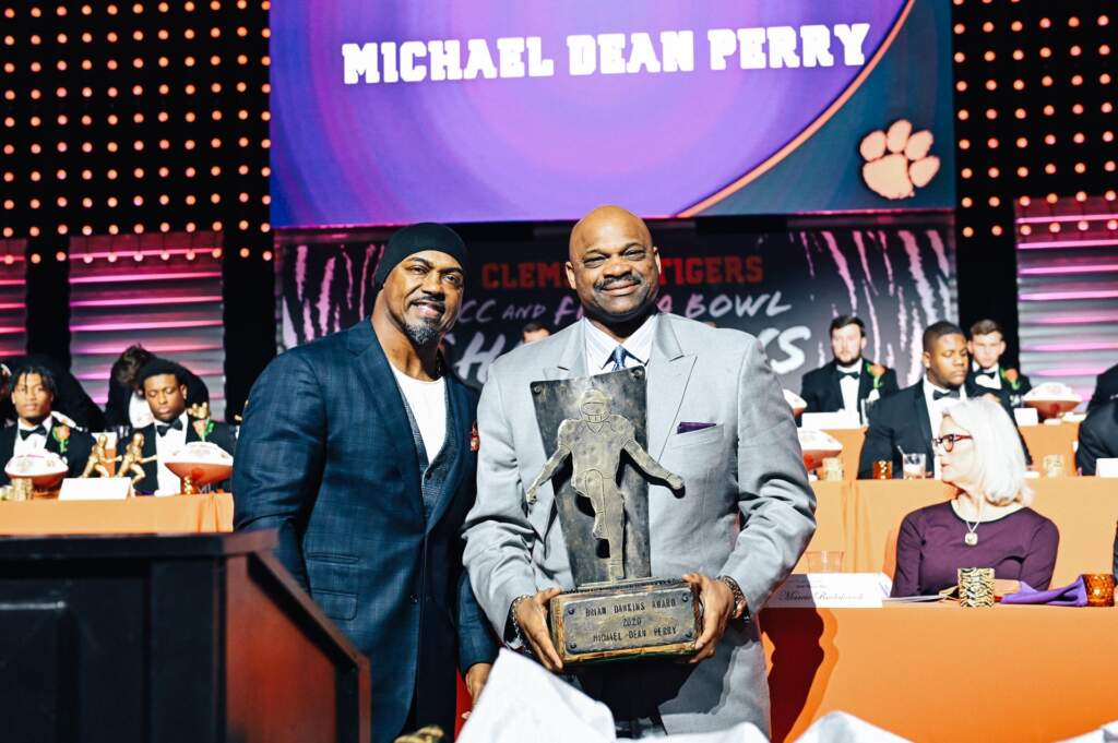 Michael Dean Perry Named Brian Dawkins Award Winner