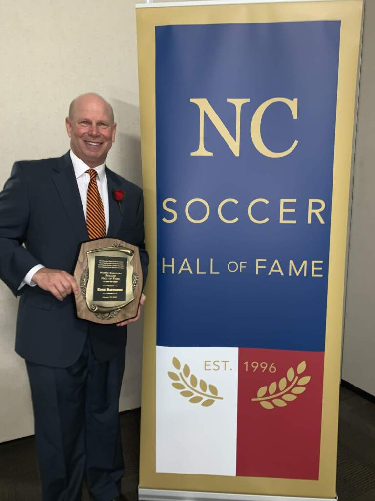 Radwanski Inducted Into North Carolina Soccer Hall of Fame