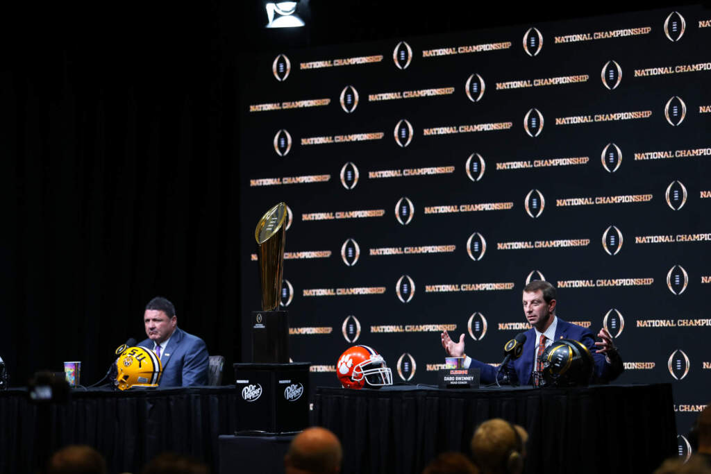 HEAD COACHES PRESS CONFERENCE || NATIONAL CHAMPIONSHIP WEEK