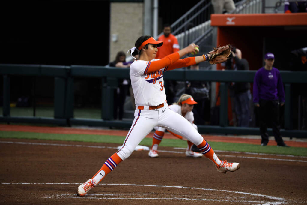 Caymol Tosses No-Hitter in Clemson's First Home Win