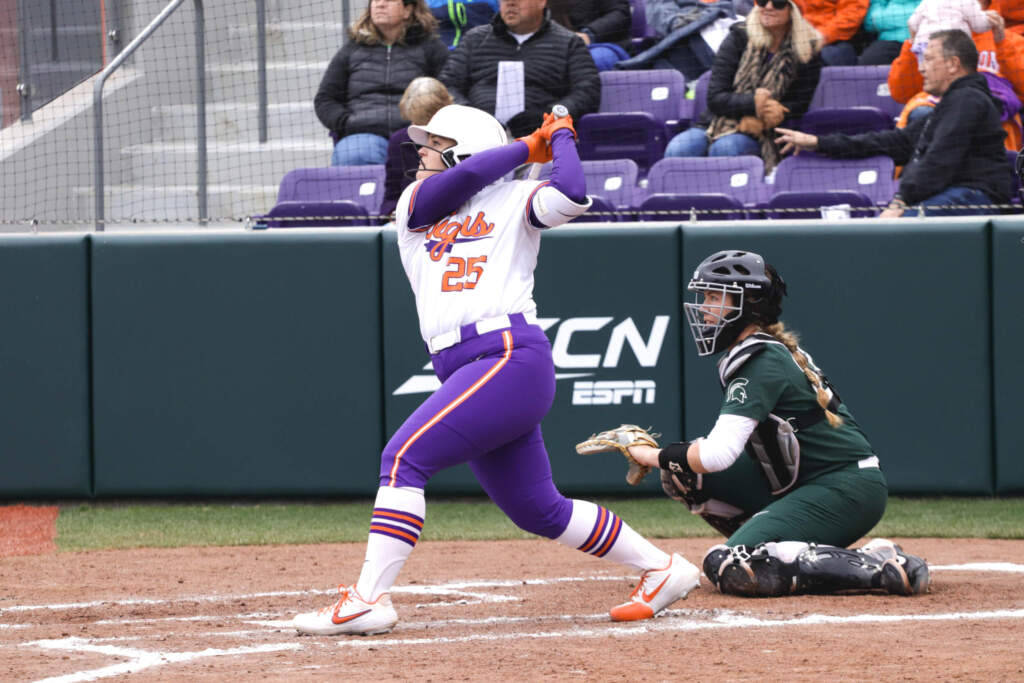 Tigers' Sixth-Inning Surge Leads Clemson to Victory Over MSU