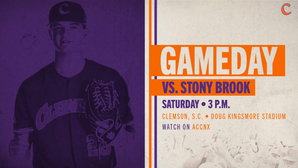 GAMEDAY – Stony Brook at Clemson