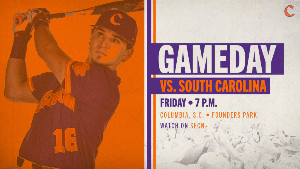 GAMEDAY – Clemson at South Carolina