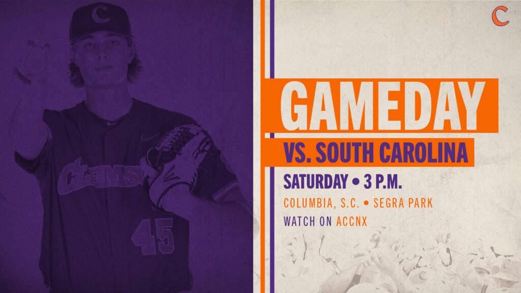 GAMEDAY – South Carolina vs. Clemson (Columbia, S.C.)