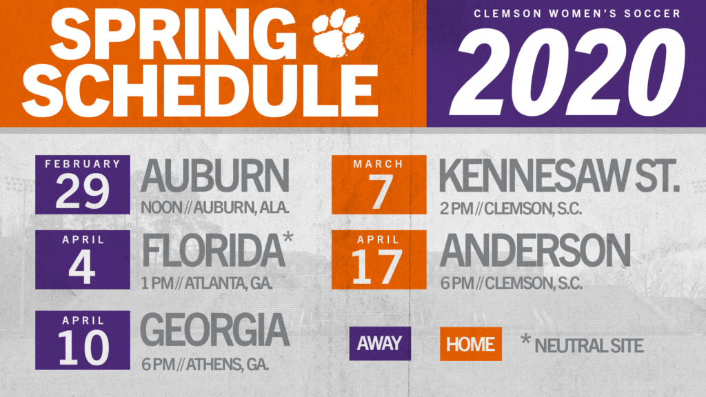 Women's Soccer Releases 2020 Spring Match Schedule