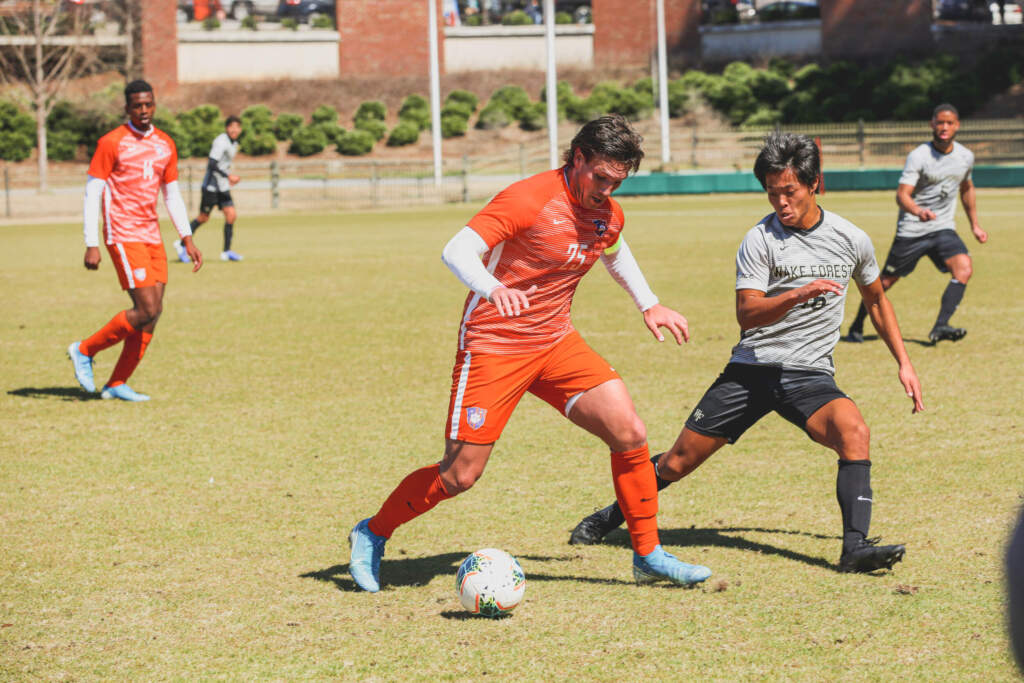 Clemson Overpowers Wake Forest in 1-0 Victory