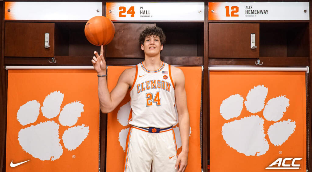 Clemson Signee P.J. Hall Named Gatorade South Carolina Boys Basketball Player of the Year