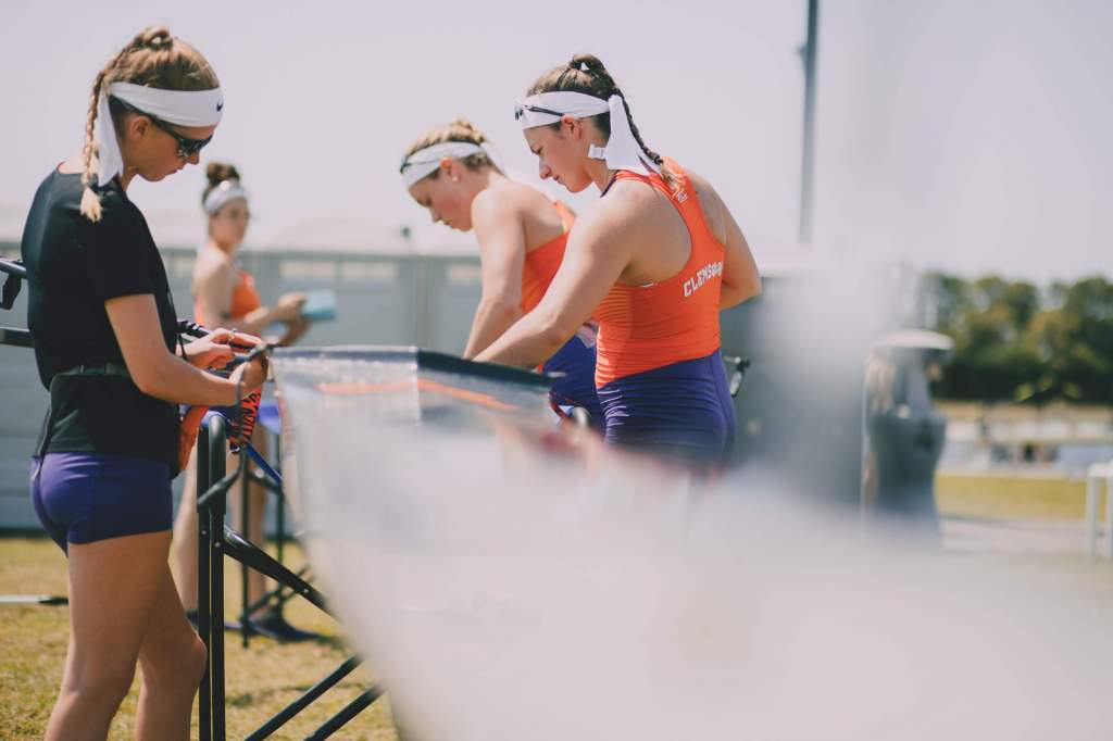 Rowing Hosts 2019 Clemson Invitational Regatta