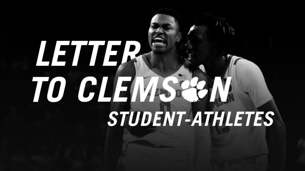 Letter to Student-Athletes on National Student-Athlete Day