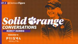 Play video: Solid Orange Conversations • Ep. 06 • Nancy Harris