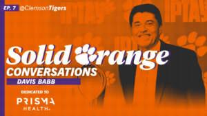 Play video: Solid Orange Conversations • Ep. 07 • Davis Babb