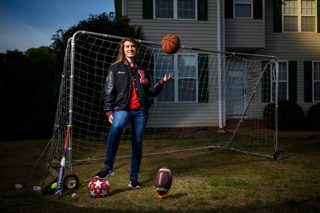 Holliday Named 2019-20 All Upstate Female Athlete of the Year