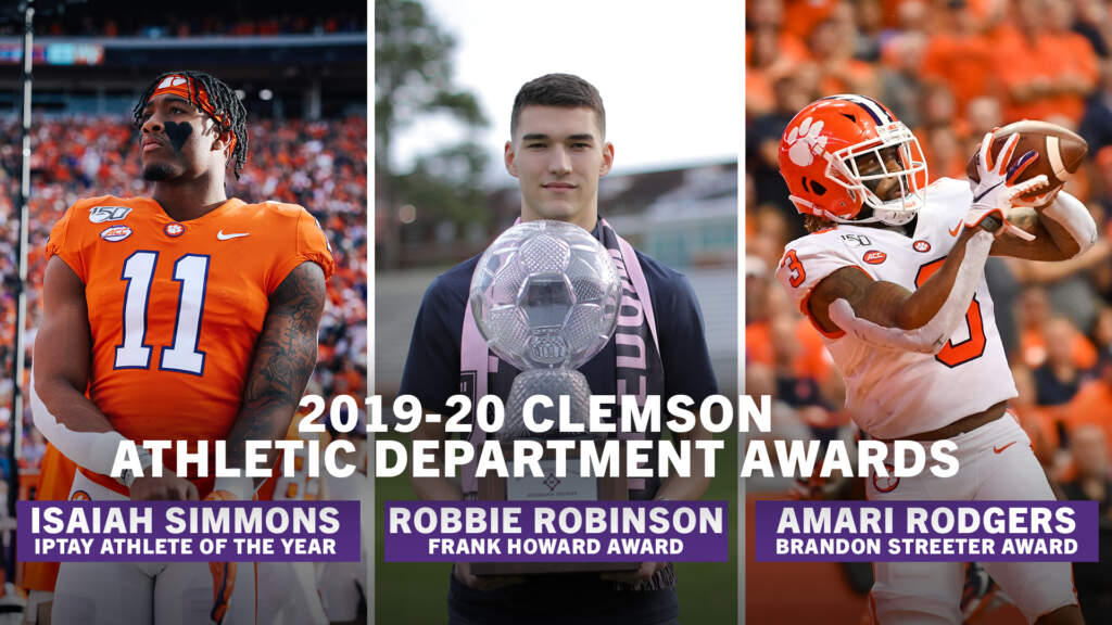2020 Howard, Streeter and IPTAY Athlete of the Year Award Winners Announced