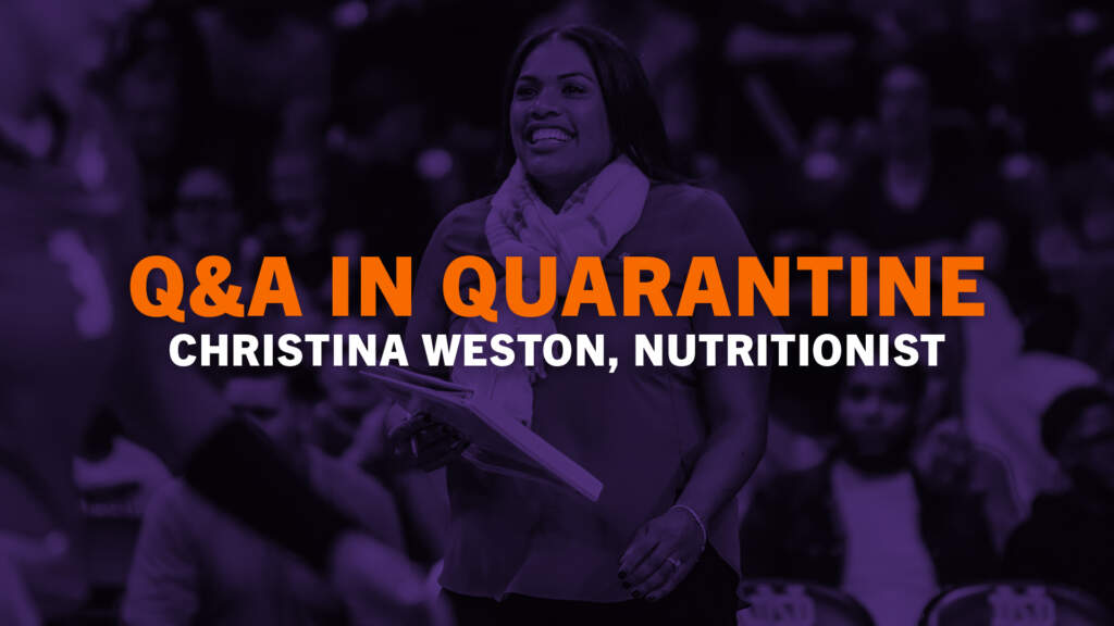 Q&A In Quarantine (Christina Weston, Ep. 1)