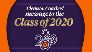 Play video: Message to the Class of 2020