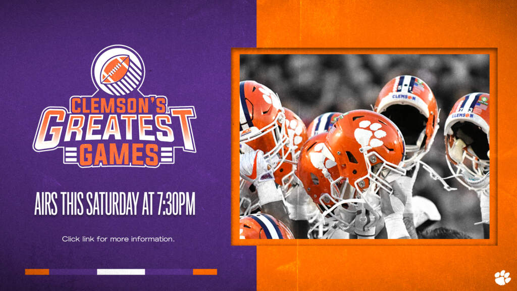 "Protected: Clemson, WSPA to Debut ""Clemson's Greatest Games"" TV Series"