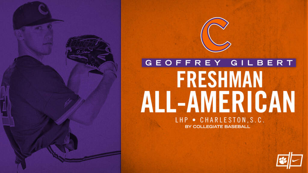 Gilbert Earns Freshman All-America Honor