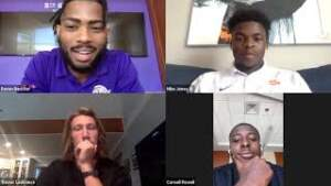 Play video: Clemson Football Student-Athletes Discuss