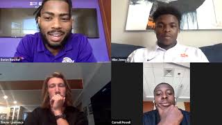 "Clemson Football Student-Athletes Discuss ""A March for Change"""