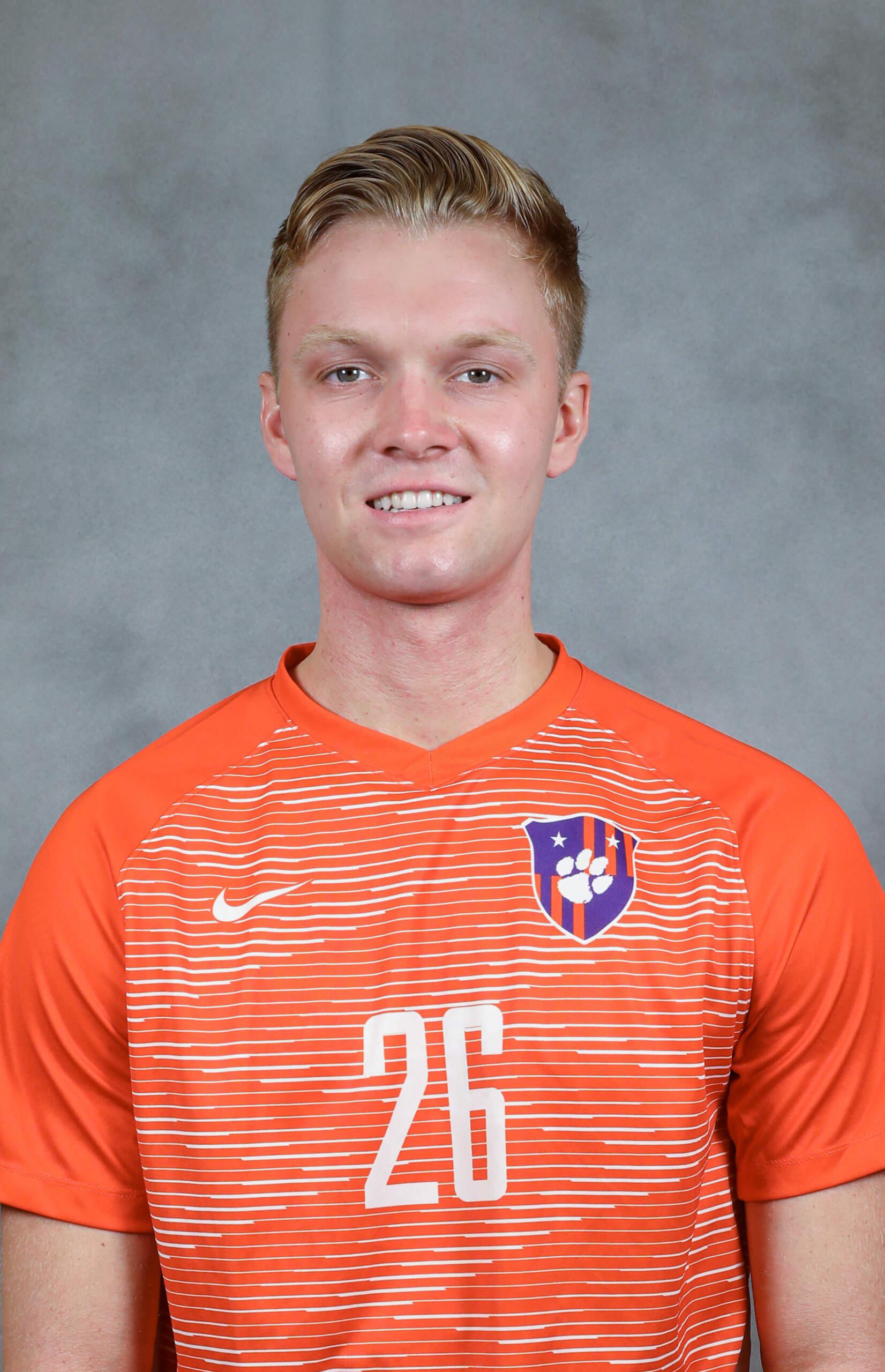 Jake Barron - Men's Soccer - Clemson University Athletics