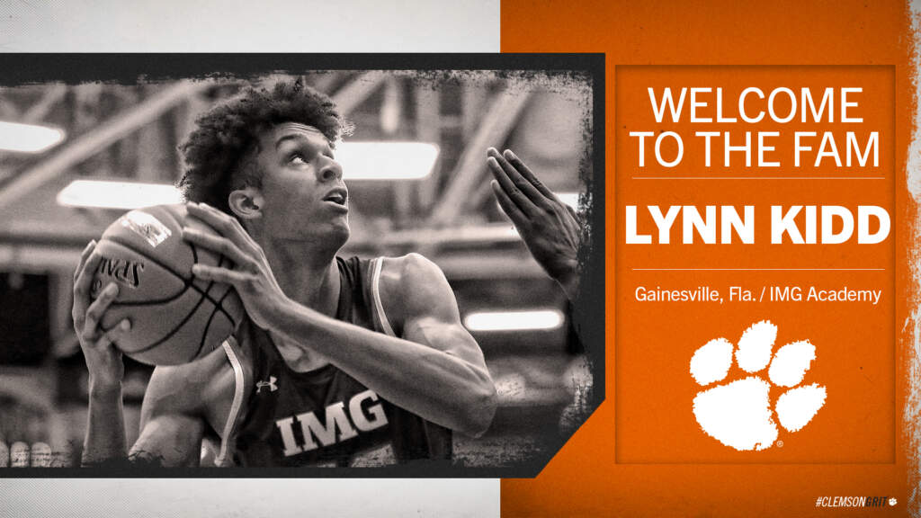 Clemson Basketball Signs Four-Star Prospect Lynn Kidd