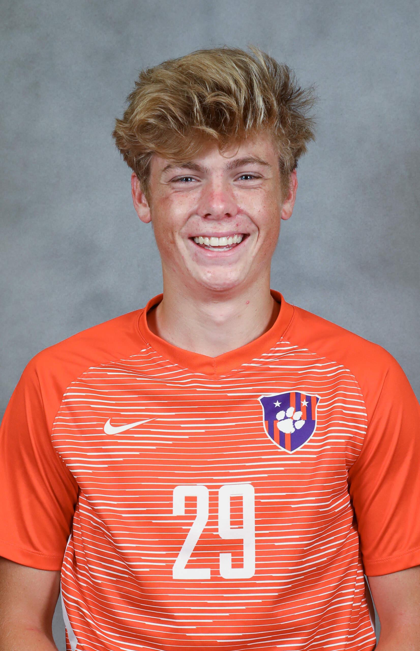 Brandon Parrish - Men's Soccer - Clemson University Athletics