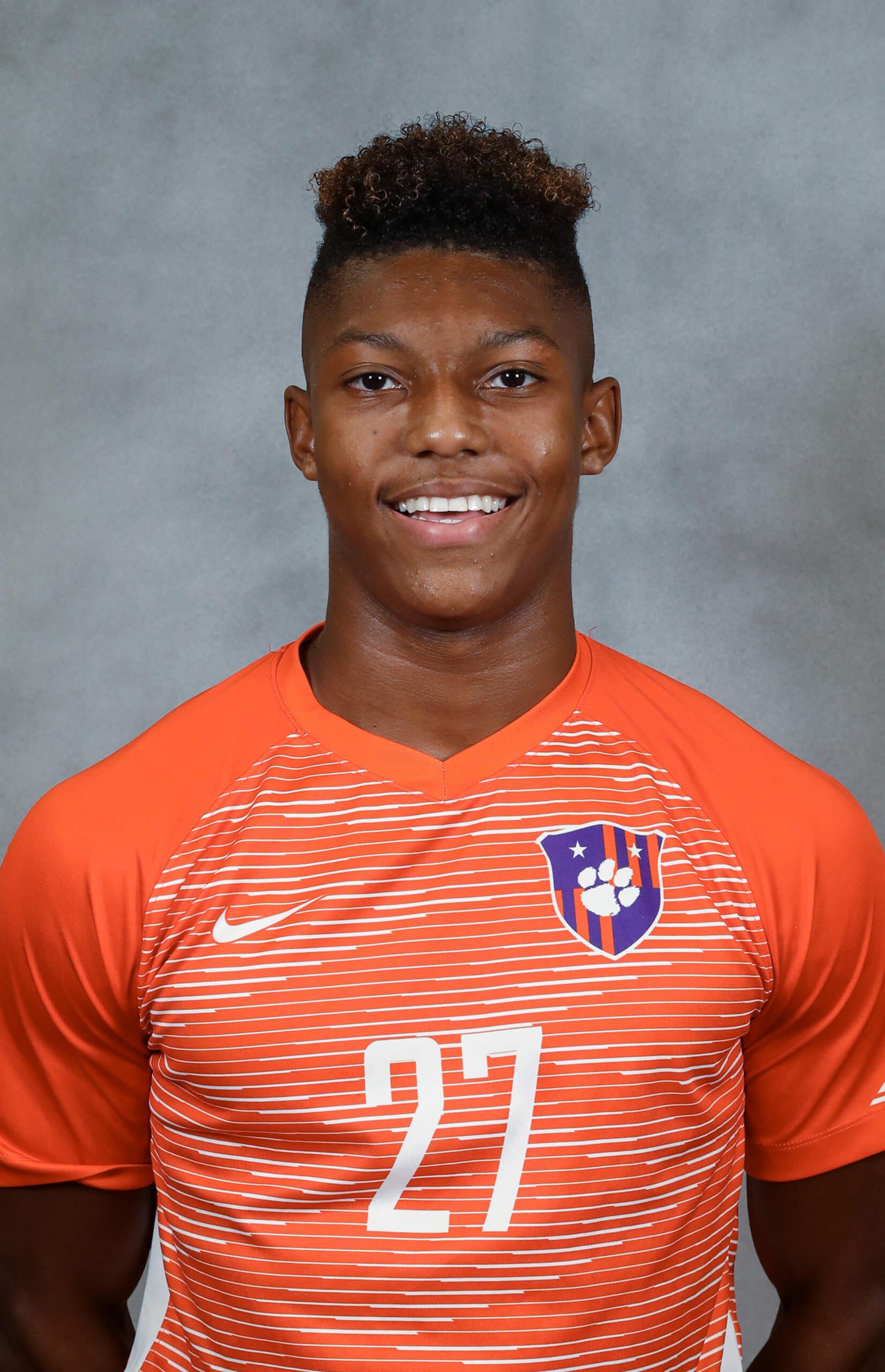 Isaiah Reid - Men's Soccer - Clemson University Athletics