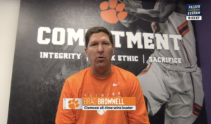 Play video: Packer and Durham: Brad Brownell (7-28-20)