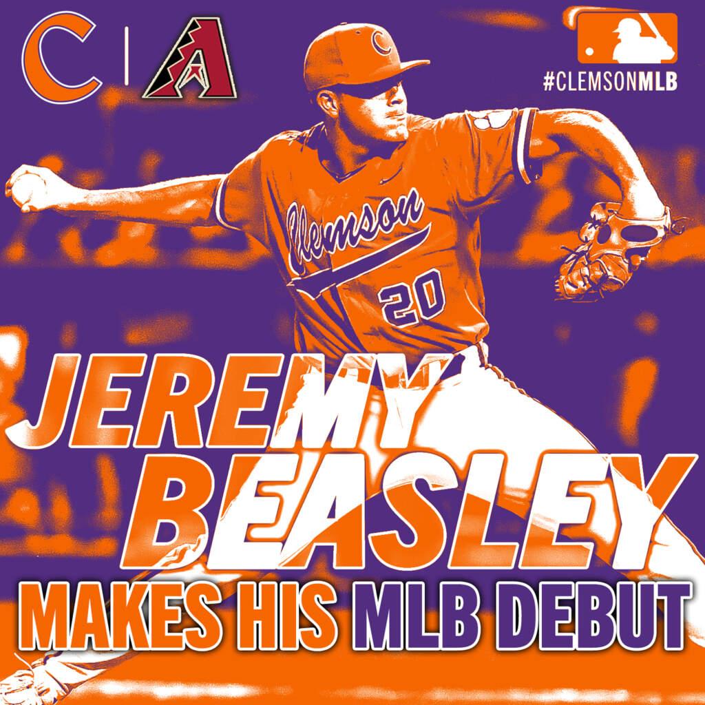 Beasley Makes MLB Debut