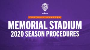 2020 Memorial Stadium Video