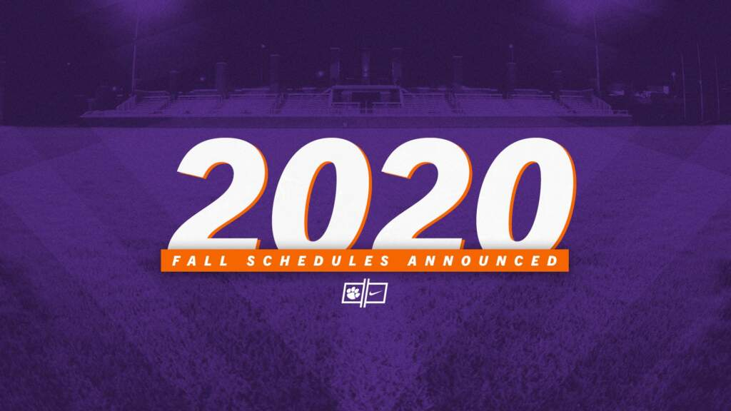 Clemson Announces Fall Olympic Sport Schedules