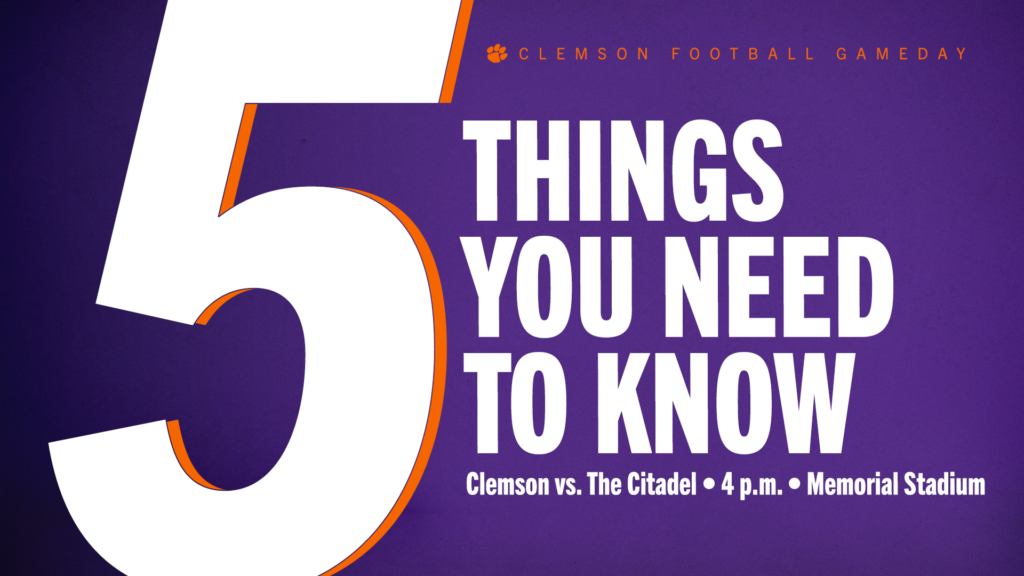 Football Gameday: 5 Things You Need To Know